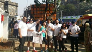 India Team at the event.