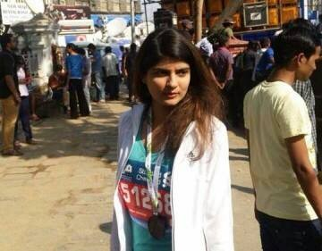 India Youth Chairperson Runs for a Cause