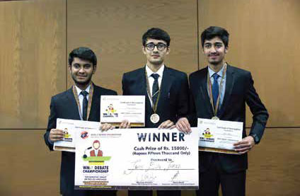 Debate Championship - Winning Team (PAK)