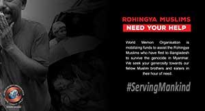 Rohingya Muslims need your help